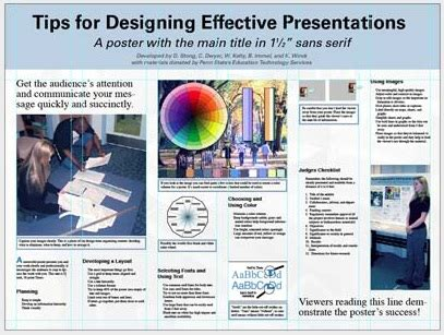 How To Make A Poster Out Of Paper - poster basics how to create a research poster research
