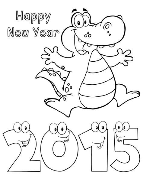 new year 2015 animal worksheets happy new year 2015 alligator worksheets third grade