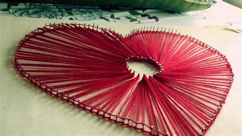heart pattern string art string art heart pattern youtube