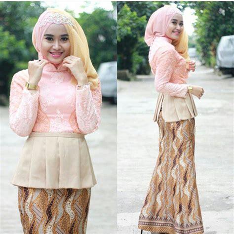 Dress Aida Lengan Panjang Kerudung model kebaya modern lengan panjang untuk muslimah remaja