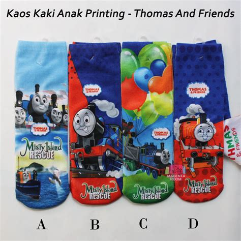 Kaos And Friends kaos kaki anak printing and friends magenta room