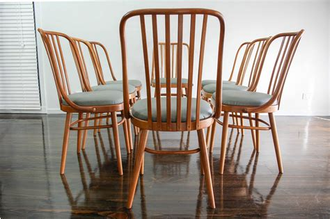 ligna bentwood chairs set of 8 ligna drevounia dining chairs bentwood mid