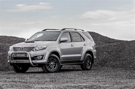 Toyota Epic Toyota Fortuner Epic Introduced In Sa Specs And Prices