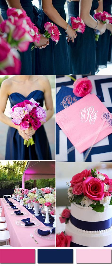 wedding colors trends for 2017 pink yarrow color