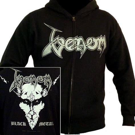 Hoodie Ziipper Venom Cloth home apparel venom black metal zip hoodie