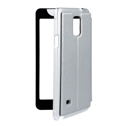 Samsung Galaxy Note4 N9100 Usams Touch Flip Cover View Clear usams flip touch series калъф тип портфейл за samsung galaxy note 4 сребрист на топ