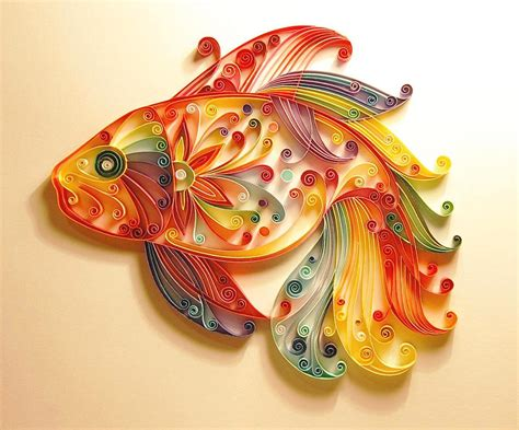 Paper Craft Design - antart quilling