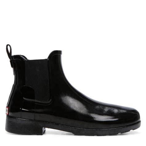 black gloss boots s original refined chelsea black gloss boot