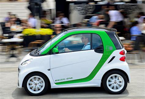smart ed car smart electric drive plugincars