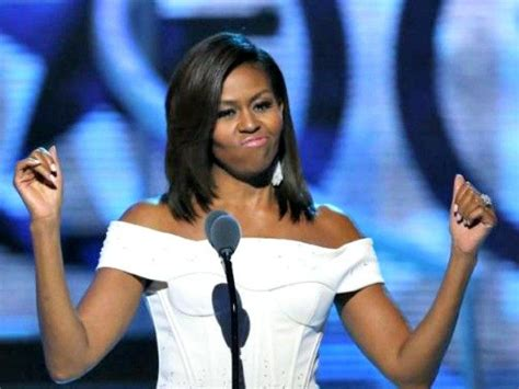 michelle obama young michelle obama to black girls my husband is so proud of you