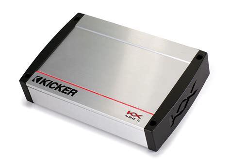 Power Kicker Ex450 4 Aplifier 4 Channel Class Ab New kicker kx400 4 kx series 4 channel car lifier package with 4 ring terminal hpca