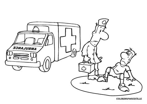 coloring page of an ambulance lego ambulance coloring pages only coloring pages