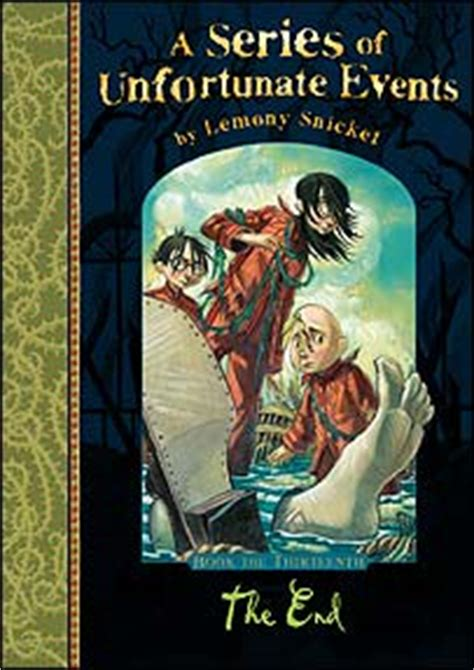 libro a series of unfortunate cbbc newsround world the end of lemony snicket series