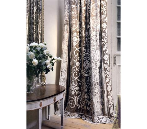 velvet curtain panel whitehall taupe velvet curtain panel