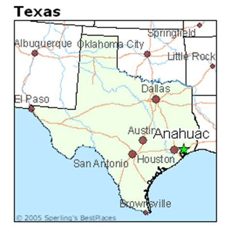 map of anahuac texas best places to live in anahuac texas