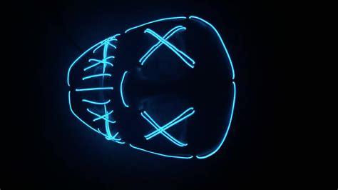 us ds light blinking time warner flashing led purge mask for halloween buy purge mask