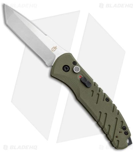 gerber downrange knife gerber auto propel downrange automatic knife od green 3 5