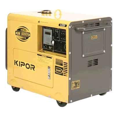 Genset Silent Kipor Kde 7000td vermont kipor 5000 watt diesel generator