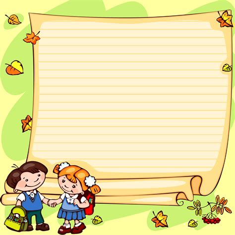 Notice Clipart School Background Pencil And In Color by Notice Clipart School Background Pencil And In Color