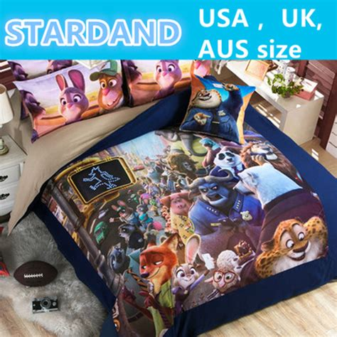 Zootopia Bedding by 2016 New Zootopia Bedding Set 3d Duvet Cover Sets Adults Bed Covers Sheets