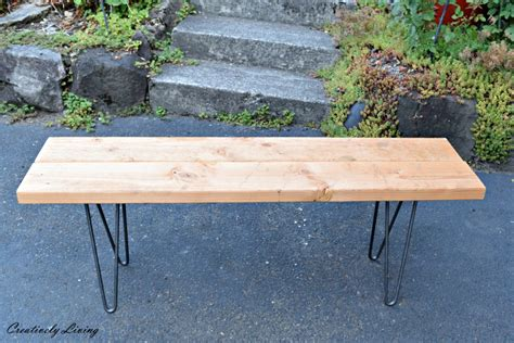 hairpin leg bench hairpin legs bench 28 images delta maple and brass