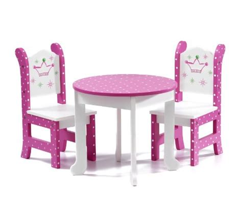 18 Inch Doll Table And Chairs by With Dolls 18 Inch Doll Furniture Fits American