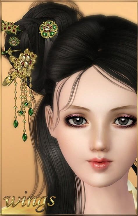 asian hairstyles skyrim 78 best the sims 3 accessories images on pinterest