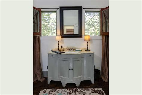 Gray Vanity by Bathroom Gray Vanity Hooked On Houses