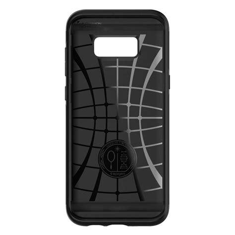 Casecovercasing Untuk Samsung S8 Spigen Black spigen 174 slim armor cs 565cs21620 samsung galaxy s8 black spaceboy