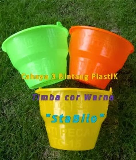 Ember Cor Kelinci 14 timba cor ember cor cap bledek cahaya tiga bintang plastik perusahaan pabrik plastik