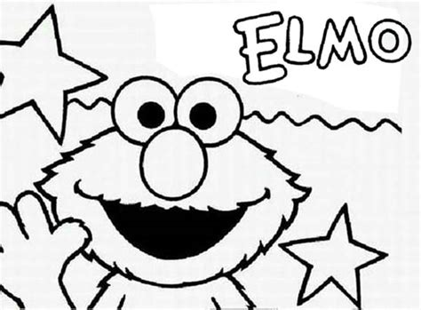 elmo number coloring pages elmo number 7 colouring pages