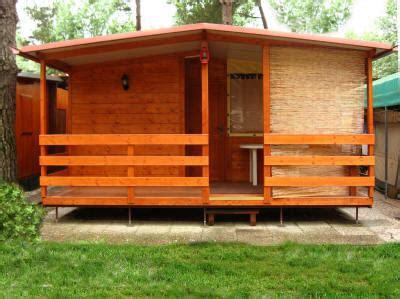 verande in legno per roulotte mobili preingressi roulotte casette in legno