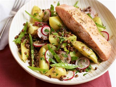 vegetables that go with salmon salad to go with grilled salmon