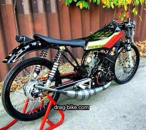 50 foto gambar modifikasi motor rx king drag racing thailook custom cafe racer drag bike