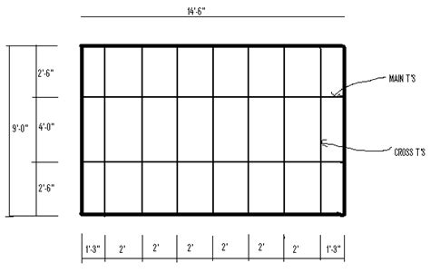 Ceiling Tile Layout suspended ceiling grid layout plan