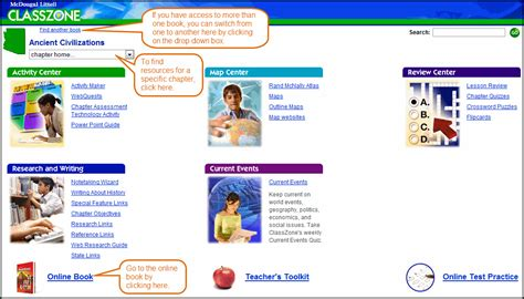 activate your products classzone classzone home