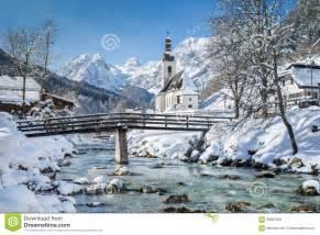 Rural House Plans ramsau in winter berchtesgadener land bavaria germany