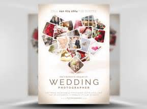 wedding photographer flyer template flyerheroes