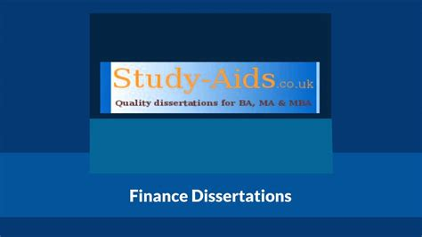 finance dissertation titles finance dissertation topics for students