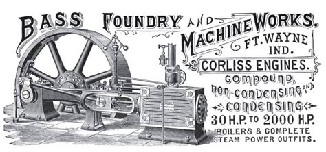 bass foundry machine   ad bass foundry
