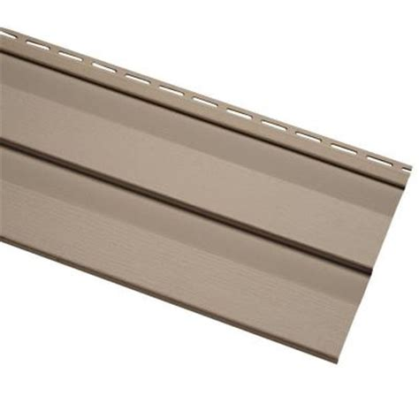 home depot paint vinyl siding cellwood evolutions 4 5 in khaki vinyl