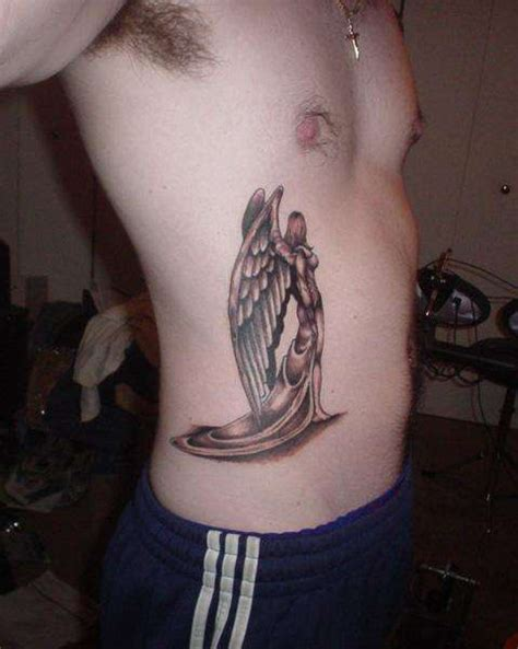 angel tattoo rib cage tattoo collection guardian angel tattoo on shoulder real photo pictures
