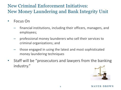 asset forfeiture and money laundering section the washington perspective enforcement is on the rise