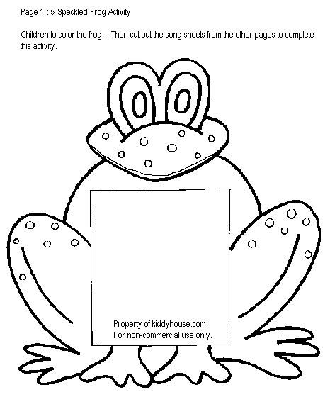 frog coloring worksheet frog worksheets kiddyhouse themes frogs worksheets html