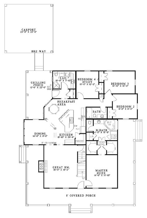 open two story floor plans best ideas about bedroom house plans country and 4 open