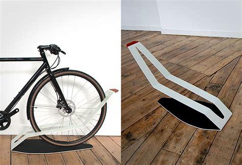 Quarterre Bike Rack by Shadow Bike Rack By Quarterre Lumberjac