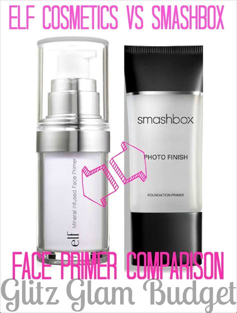 Review Macs Prepprime Vs Smashbox Photo Finish Primer by E L F Studio Mineral Infused Primer Vs Smashbox