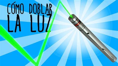 diez juegos y experimentos caseros para asimilar conceptos c 243 mo doblar la luz de un l 225 ser experimentos caseros
