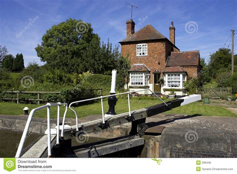 lock keepers cottage royalty free stock image image 299446