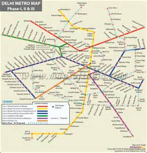 Metro Map by Metro Map Delhi Map Of The World Map